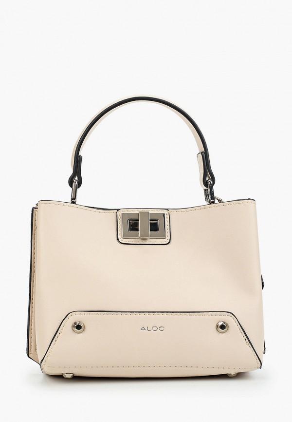 женская сумка aldo, розовая