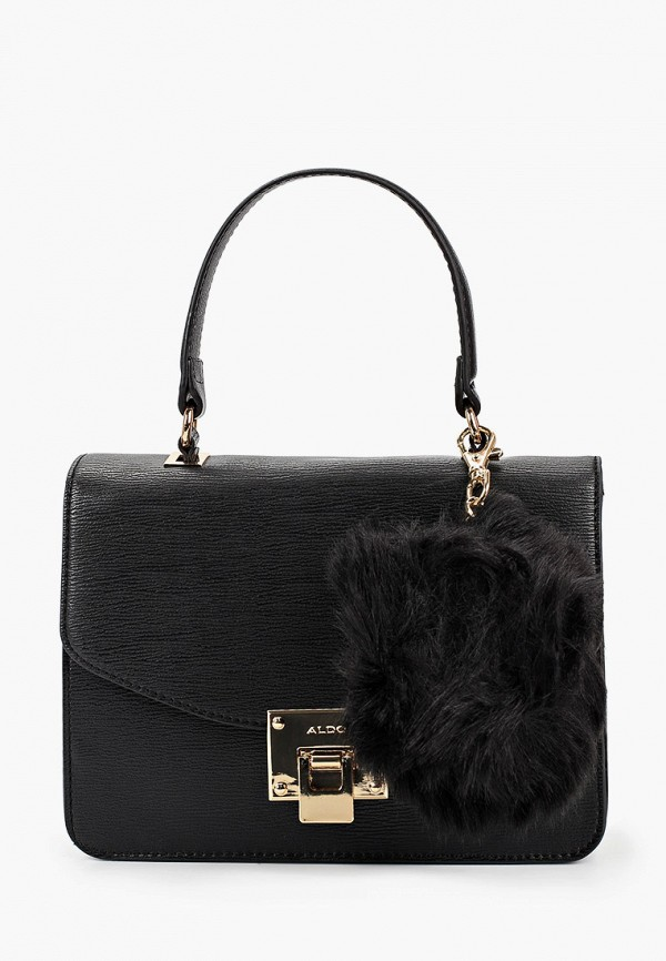 женская сумка через плечо aldo, черная