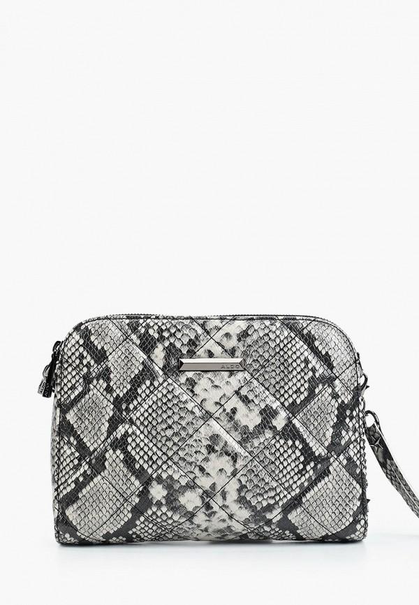 женская сумка aldo, серая