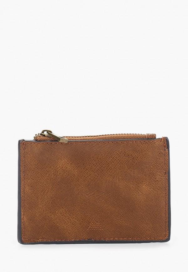 женский кошелёк aldo, коричневый