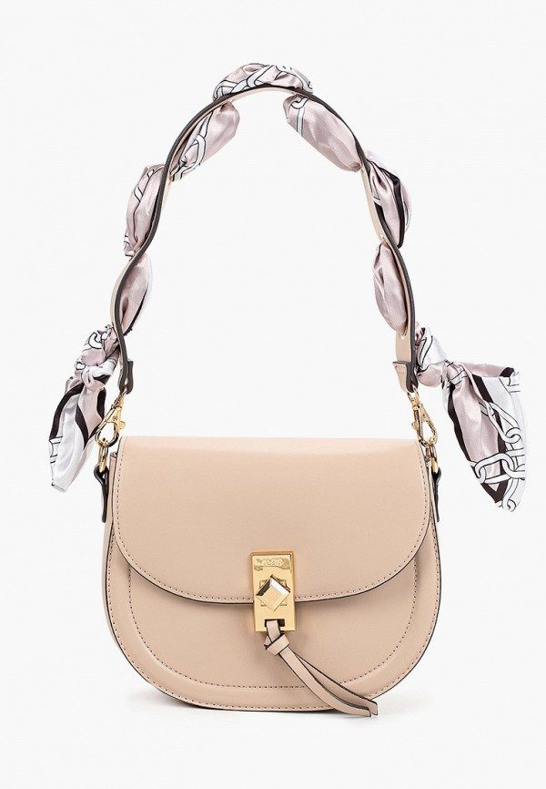 женская сумка через плечо aldo, белая