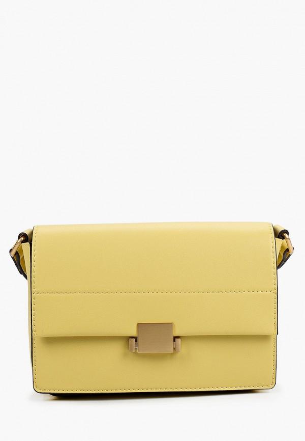 женская сумка через плечо aldo, желтая