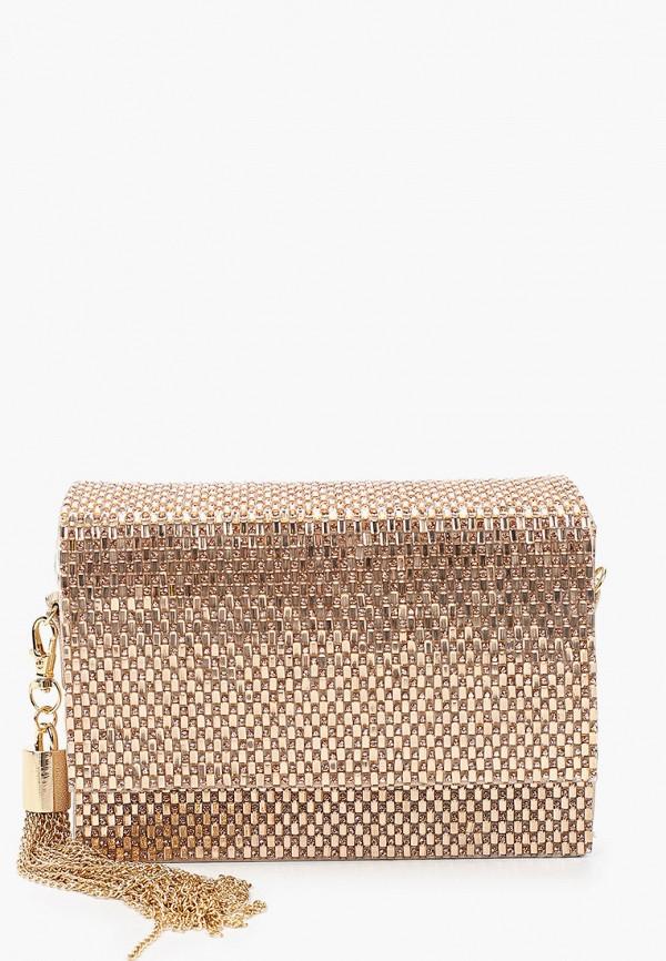 женская сумка через плечо aldo, золотая