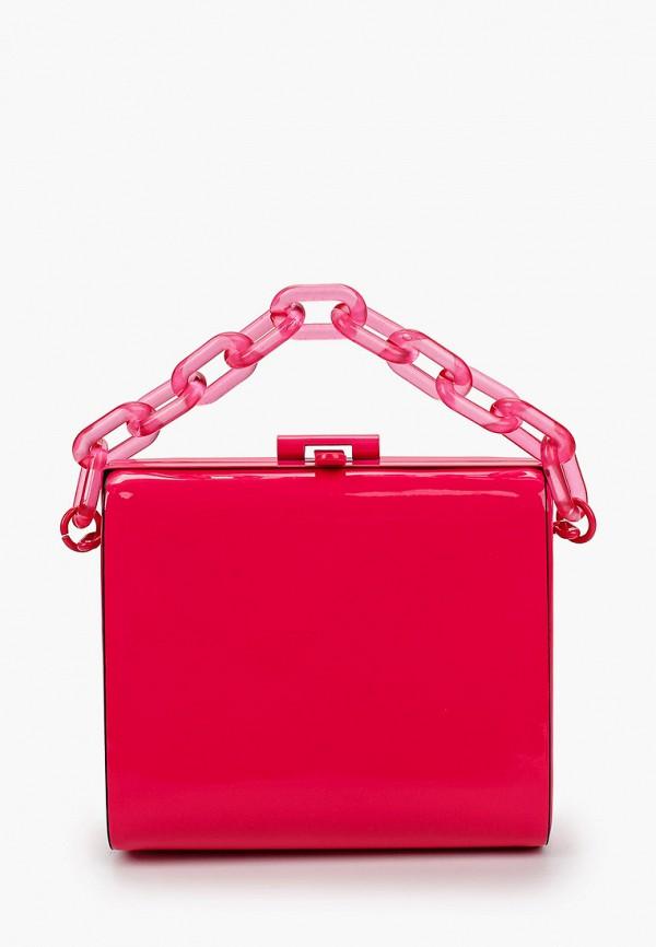 женский клатч aldo, розовый