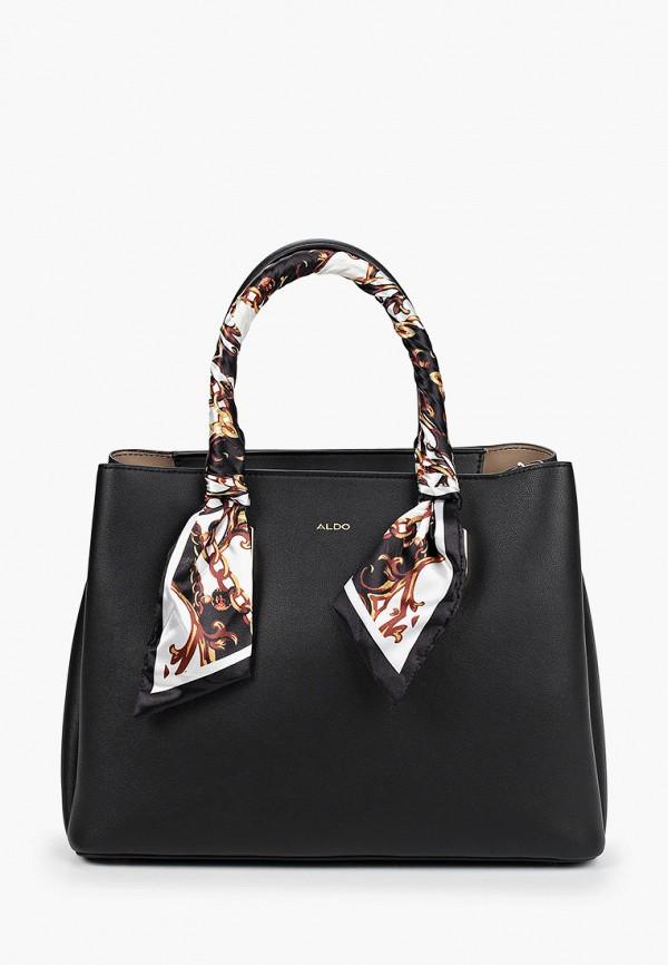 женская сумка aldo, черная