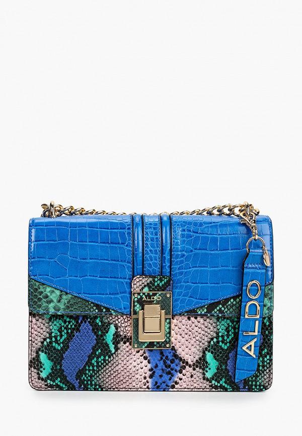женская сумка aldo, синяя