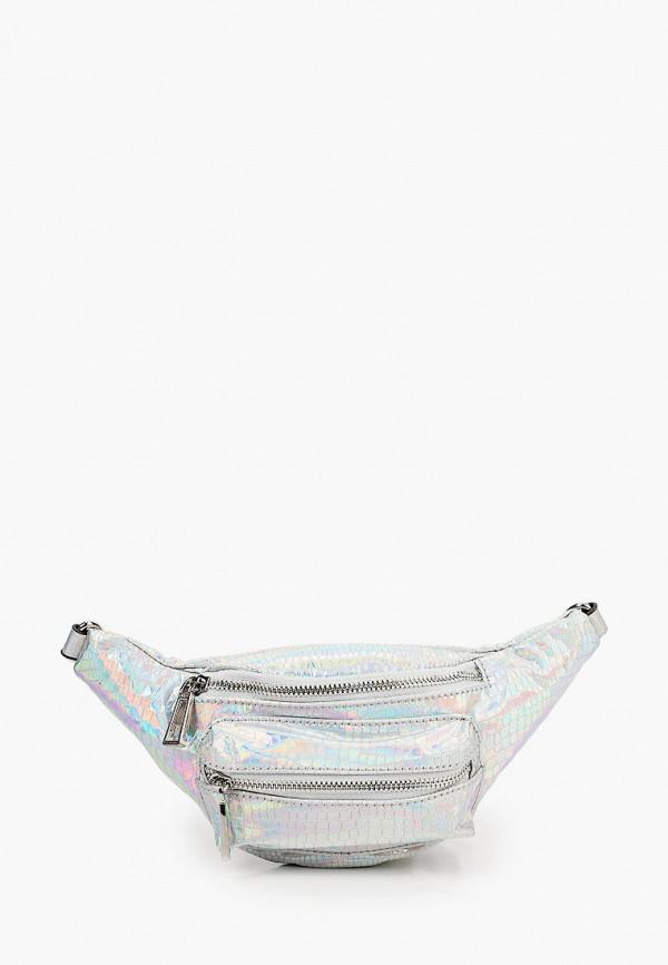 женская сумка aldo, серебряная