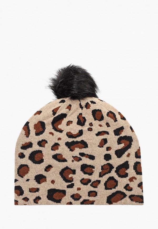 женская шапка aldo, коричневая