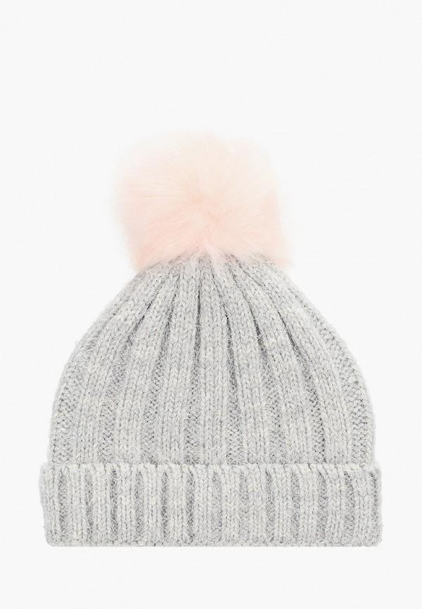женская шапка aldo, серая