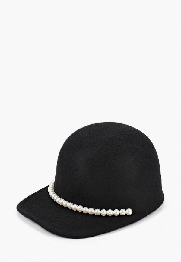 женская кепка aldo, черная
