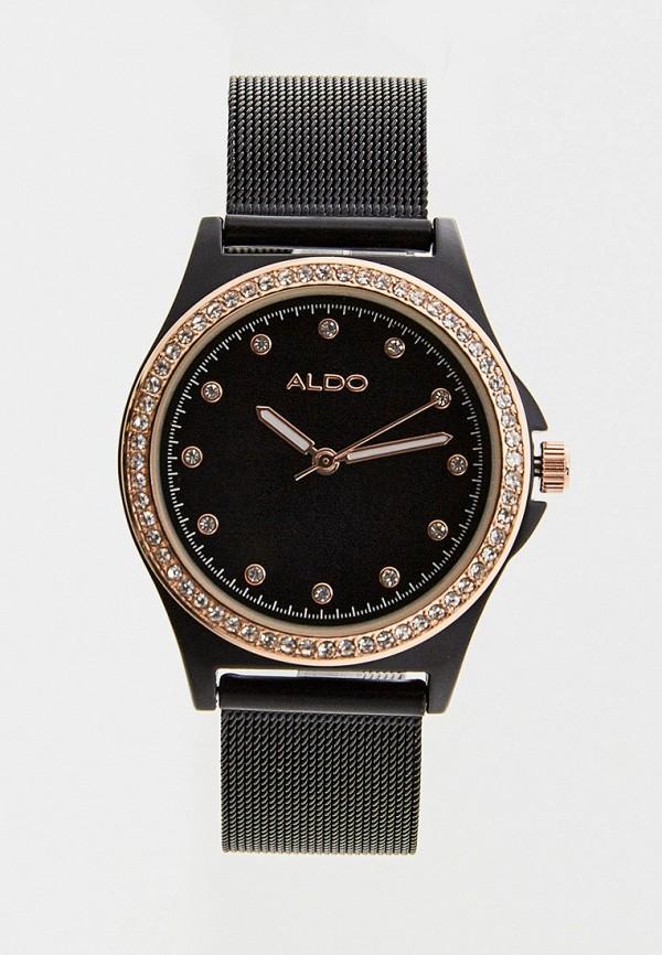 женские часы aldo, черные