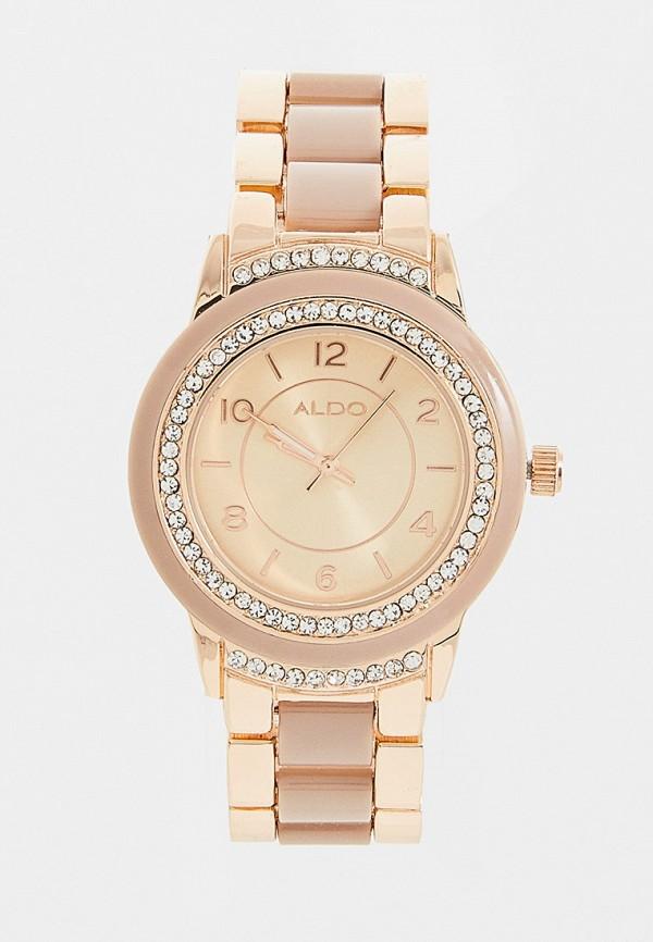 женские часы aldo, золотые