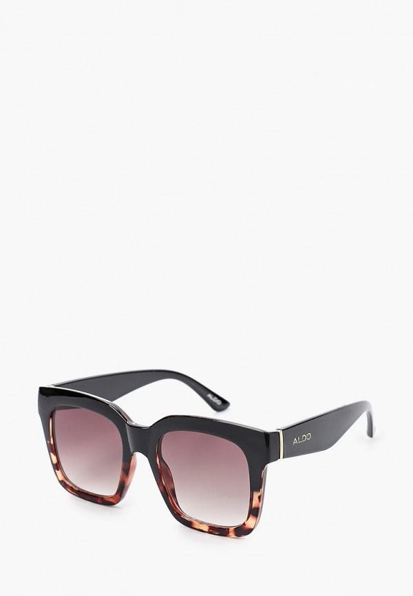 женские солнцезащитные очки aldo, коричневые