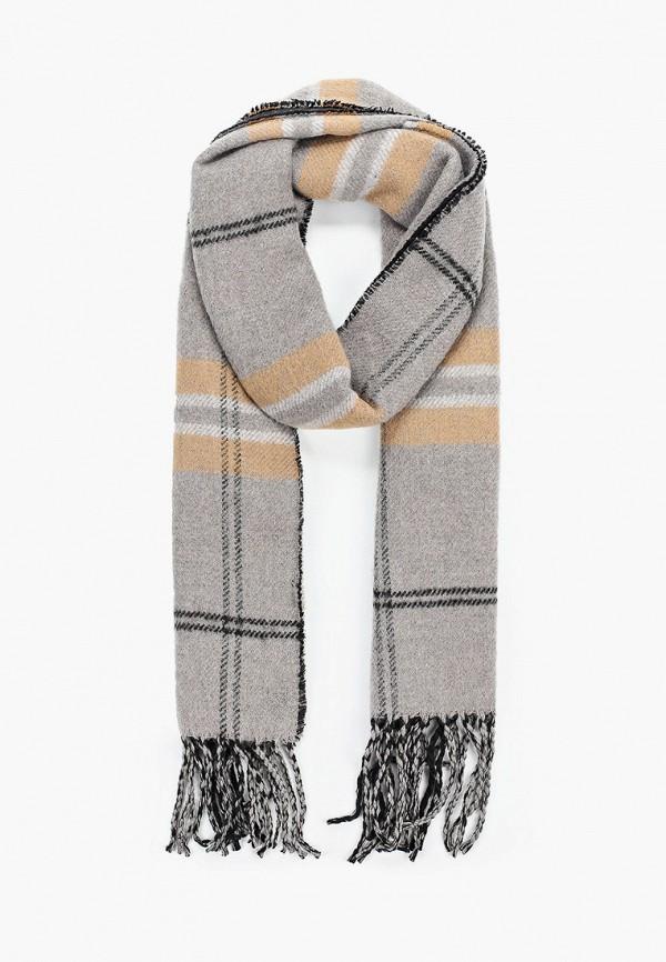 мужской шарф aldo, серый