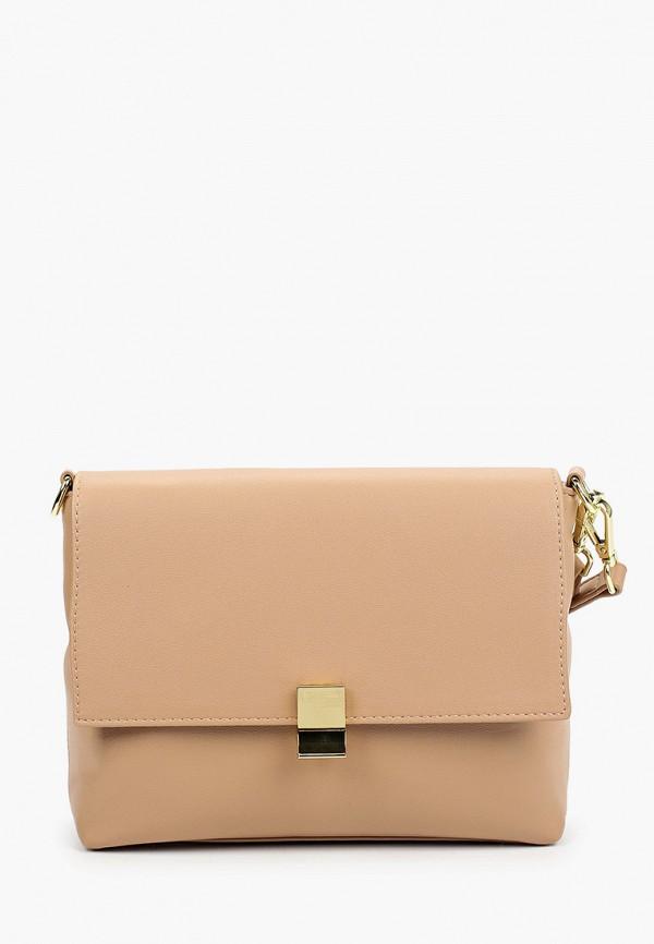 женская сумка allegri, бежевая