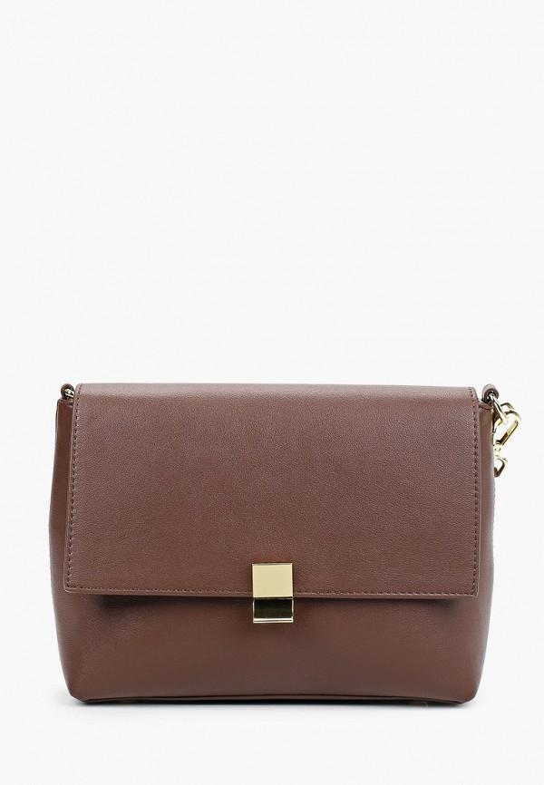 женская сумка allegri, коричневая