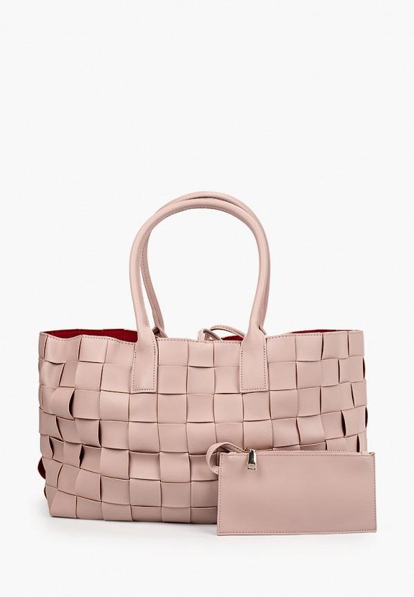 женский кошелёк-шоперы allegri, розовый