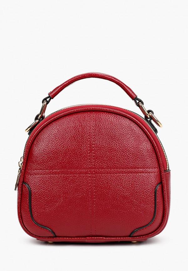 женская сумка allegri, бордовая