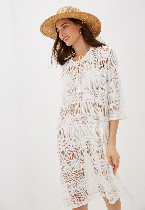 женское платье allegri, белое