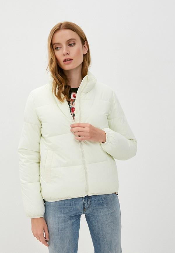 женская куртка allegri, желтая