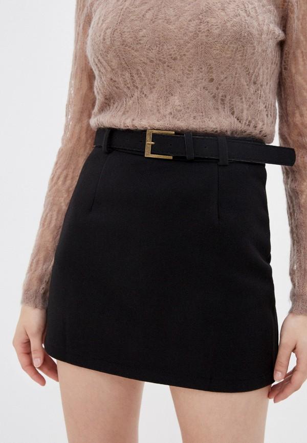 женская прямые юбка allegri, черная