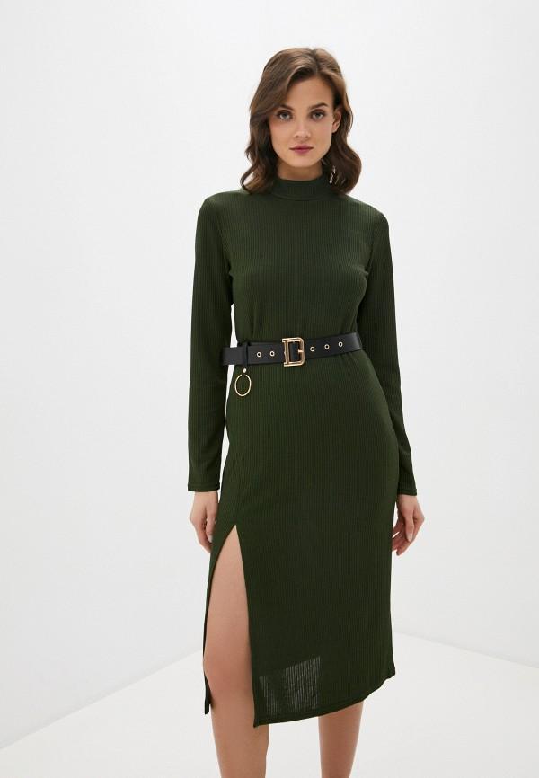 женское платье allegri, хаки