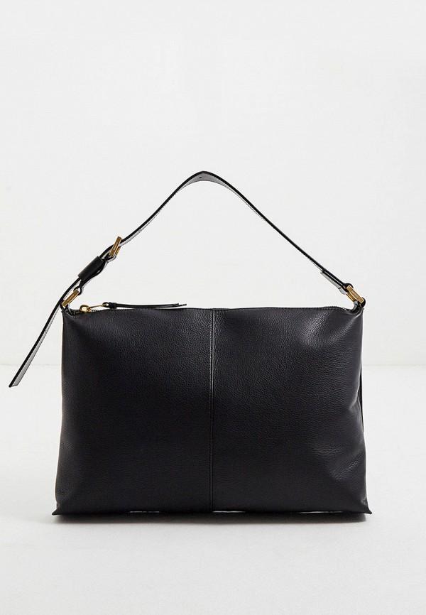 женская сумка с ручками allsaints, черная