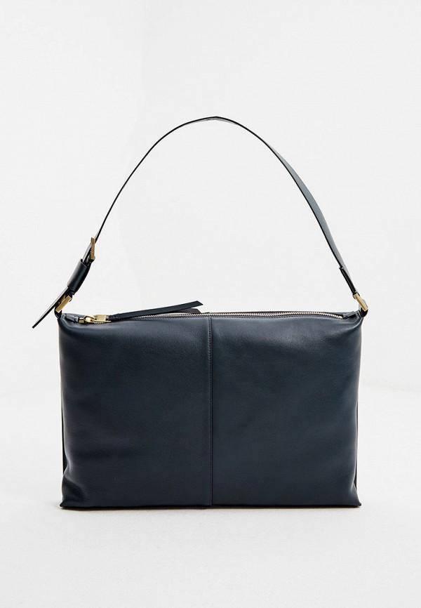 женская сумка allsaints, бирюзовая
