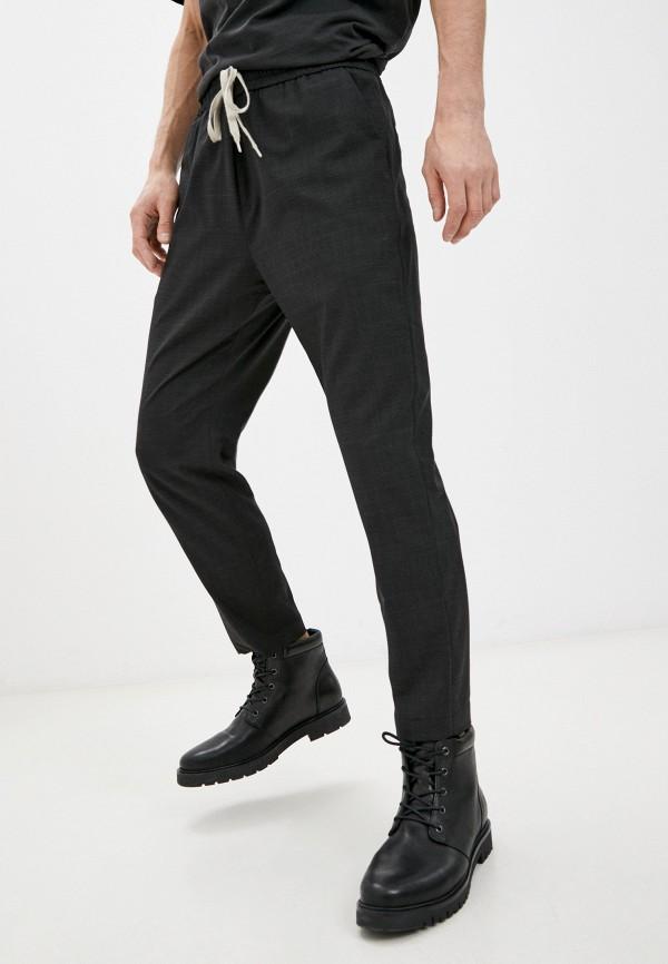 мужские повседневные брюки allsaints, черные