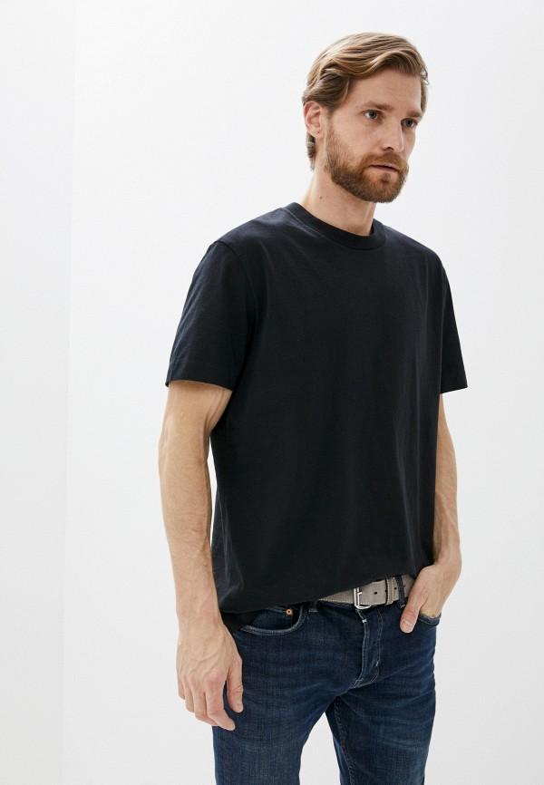 мужская футболка allsaints, черная