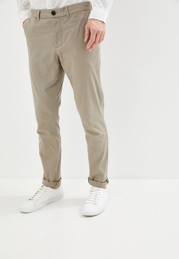 мужские повседневные брюки allsaints, бежевые