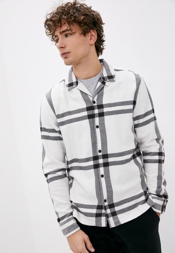 Рубашка AllSaints AllSaints MS025T белый фото