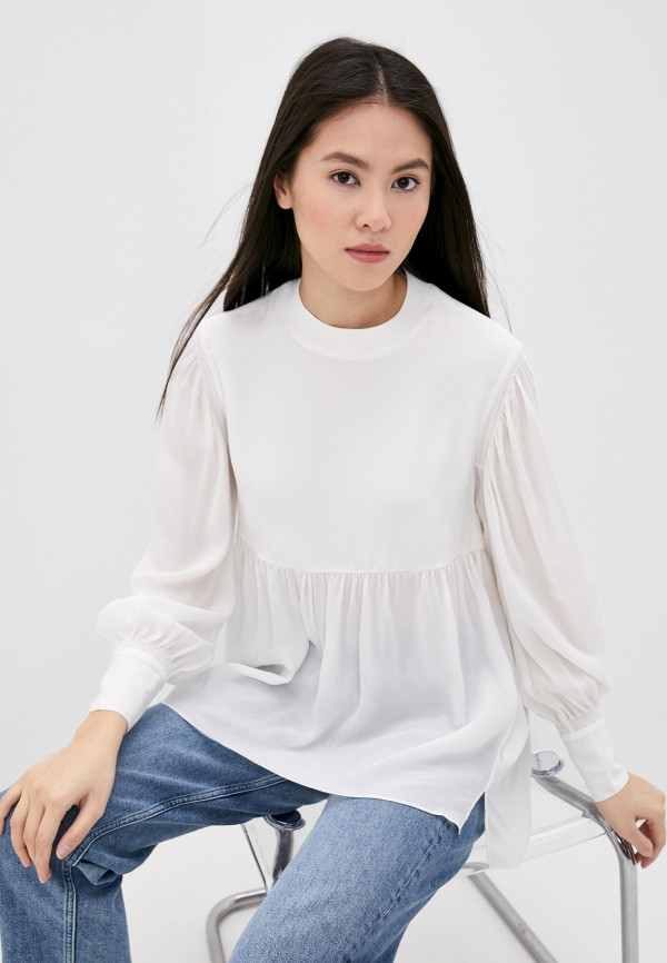 женская блузка allsaints, белая