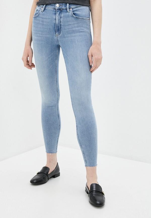 женские джинсы allsaints, голубые