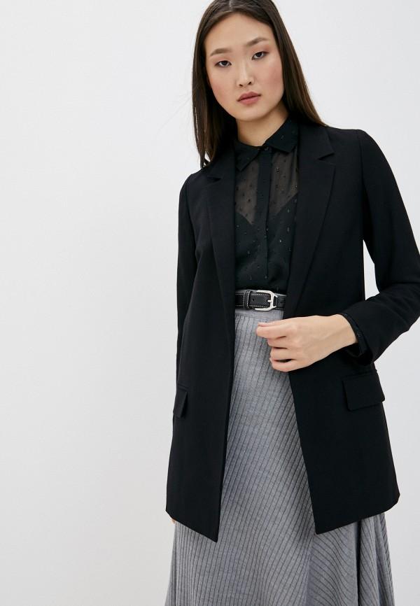 женский пиджак allsaints, черный