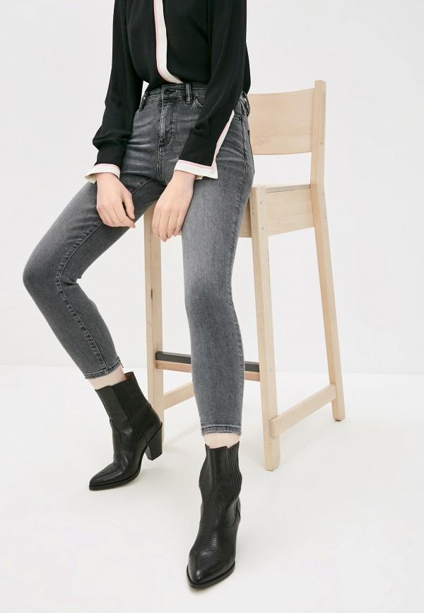 женские джинсы allsaints, серые