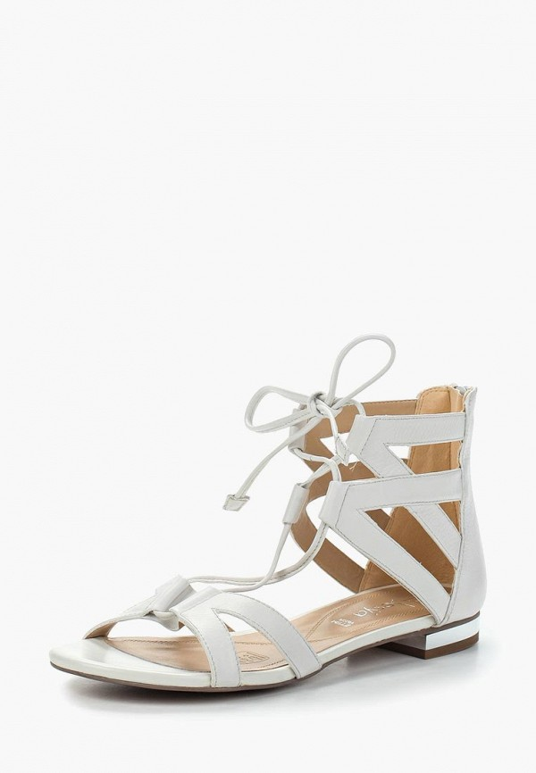 женские сандалии alesya, белые