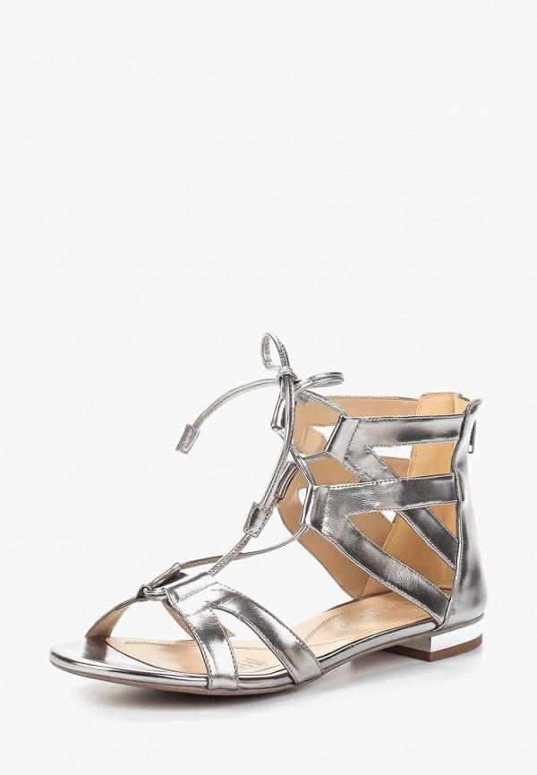 женские сандалии alesya, серебряные