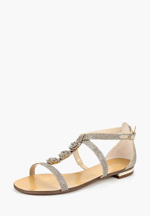 женские сандалии alesya, золотые