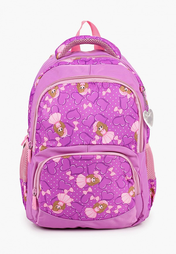 рюкзак 4all для девочки, розовый