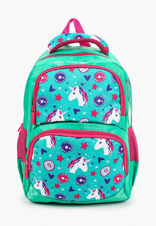 рюкзак 4all для девочки, зеленый