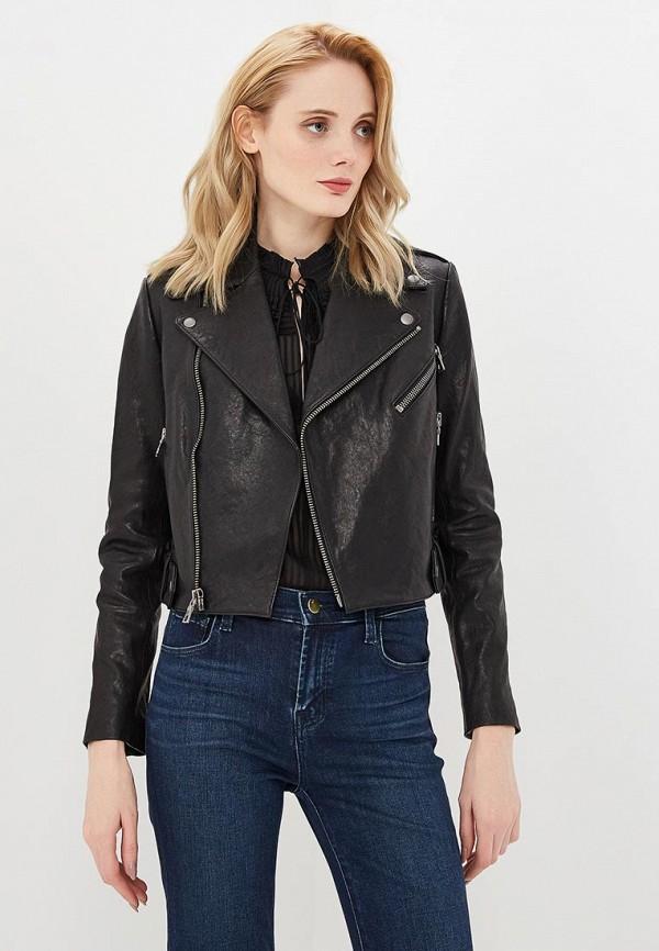 женская куртка alice + olivia, черная