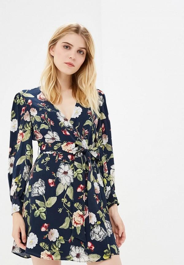 женское платье alice + olivia, синее