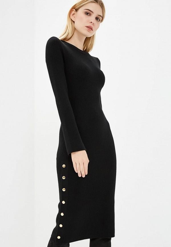 Купить Платье Alice + Olivia, Alice + Olivia AL054EWAIDG3, черный, Осень-зима 2018/2019