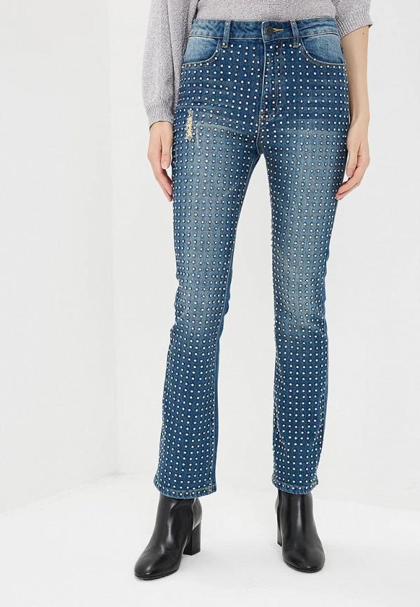 женские прямые джинсы alice + olivia, синие