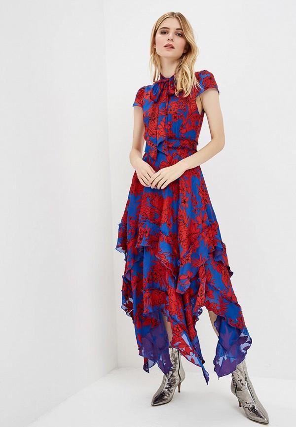 Платье Alice + Olivia Alice + Olivia AL054EWBWNZ8 alice olivia платье с вышивкой люрексом