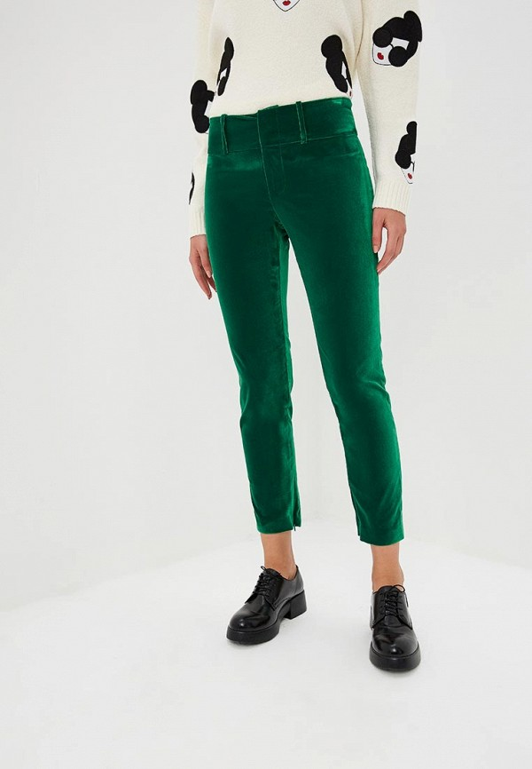 женские повседневные брюки alice + olivia, зеленые