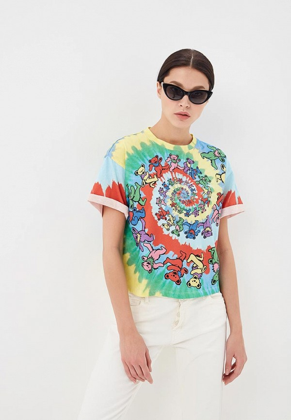 женская футболка alice + olivia, разноцветная