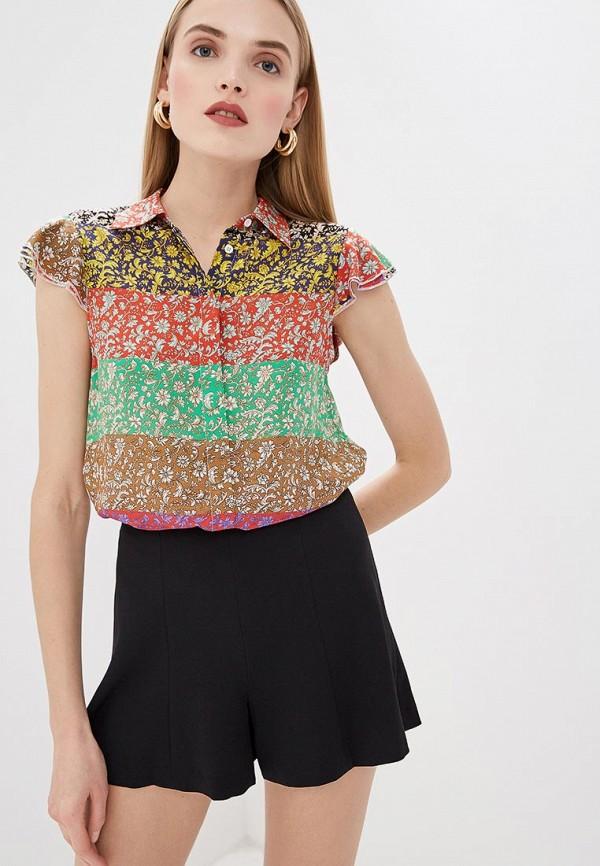 женская блузка alice + olivia, разноцветная