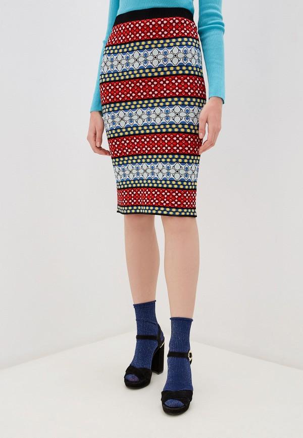 женская зауженные юбка alice + olivia, разноцветная